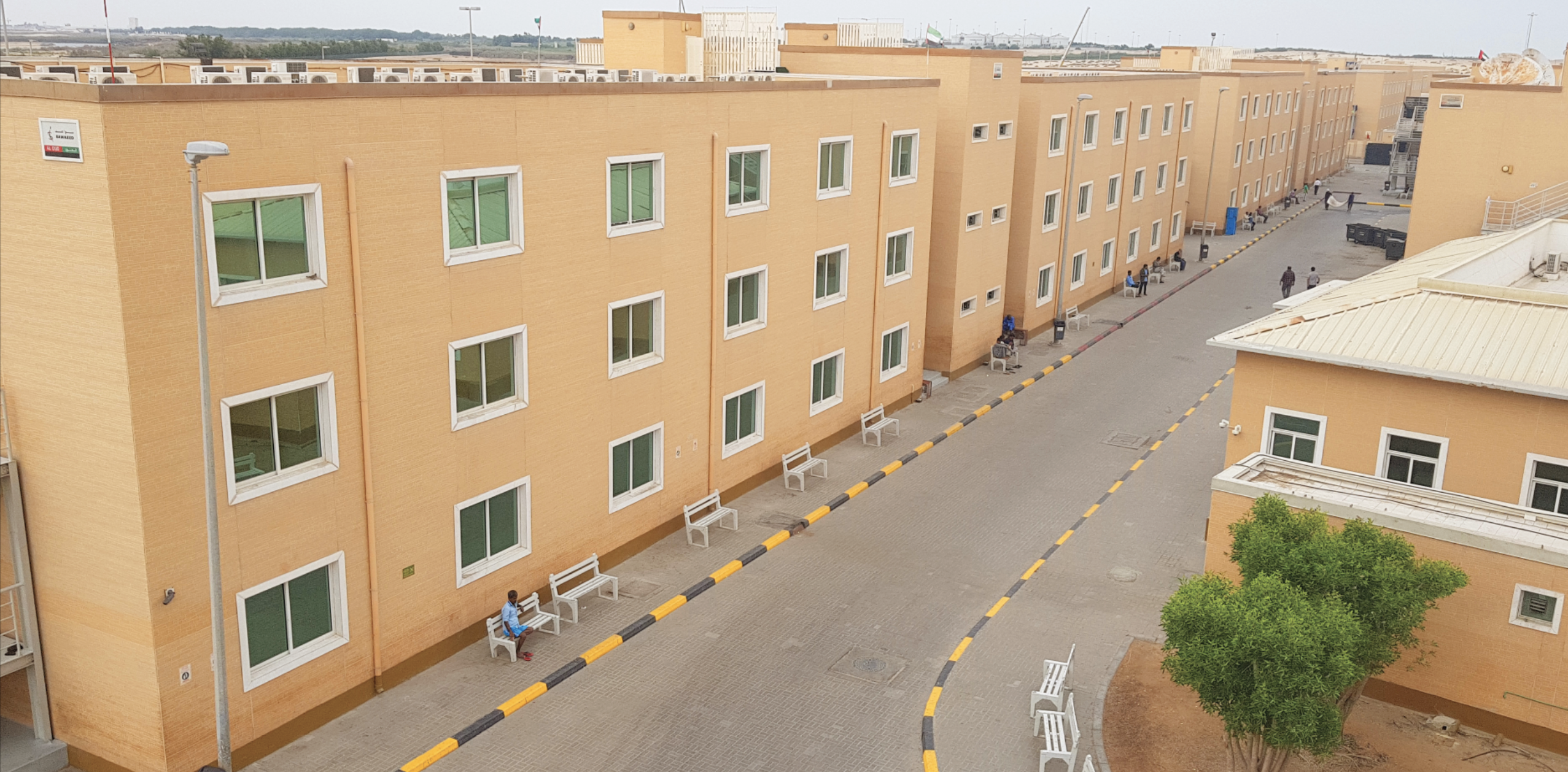 sawaeed residential city - labour camp 1